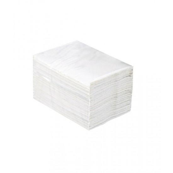 Papier toaletowy w listkach, dwuwarstwowy, 100% celulozy, MERIDA TOP