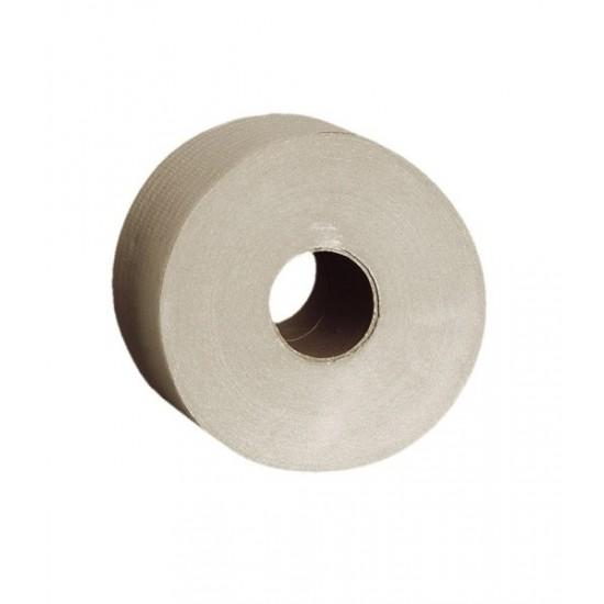 Papiery toaletowe, jednowarstwowe, szare, MERIDA ECONOMY