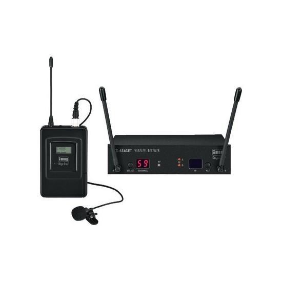 Wieloczęstotliwościowy zestaw mikrofonu bezprzewodowego TXS-636SET STAGE LINE