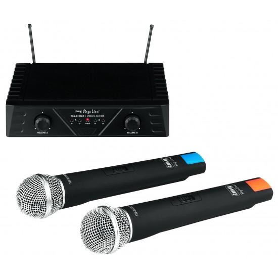 Wieloczęstotliwościowy zestaw bezprzewodowych mikrofonów TXS-812SET STAGE LINE