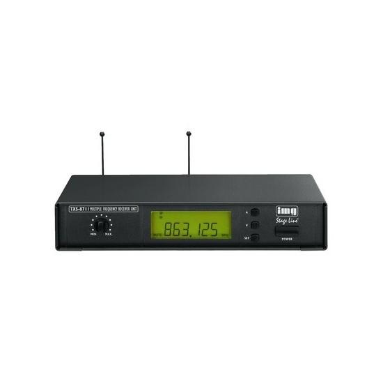 Odbiornik wieloczęstotliwościowy mikrofonu bezprzewodowego TXS-871 STAGE LINE