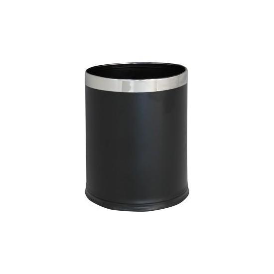 Merida kosz metalowy otwarty czarny, poj.10 l