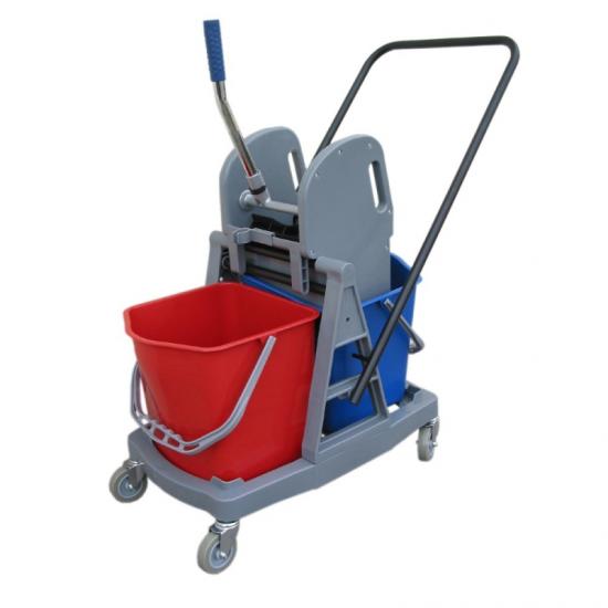 Wózek do sprzątania HFW102 dwuwiadrowy