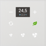 iNELS szklany termoregulator GRT3-50