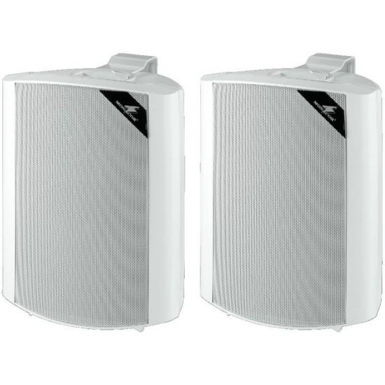 Para uniwersalnych głośników ściennych PA MONACOR EUL-60/WS