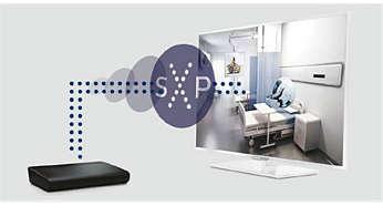 Telewizory hotelowe LED Philips wyposażone w system Serial Xpress Protocol Easy