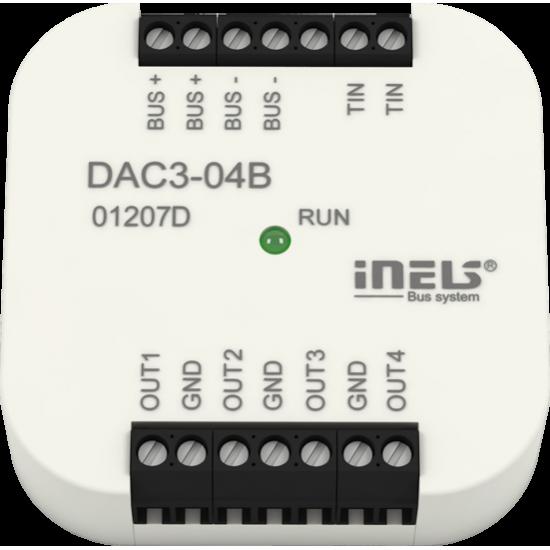 iNELS Przetwornik cyfrowo-analogowy DAC3-04B