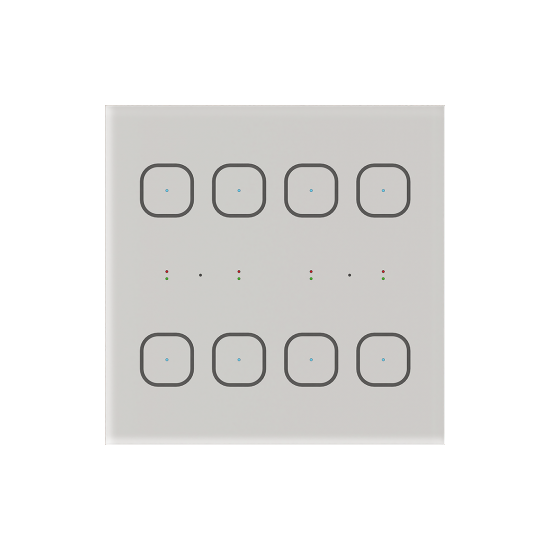 iNELS Szklany panel sterujący GSB-3-80