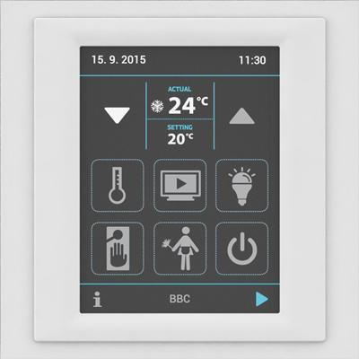 iNELS wielofunkcyjny panel dotykowy EHT3