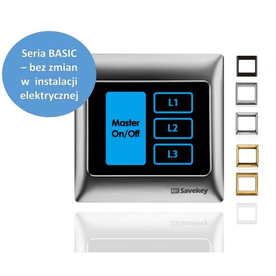 Włącznik dotykowy SaveKey BASIC TS-L3-M