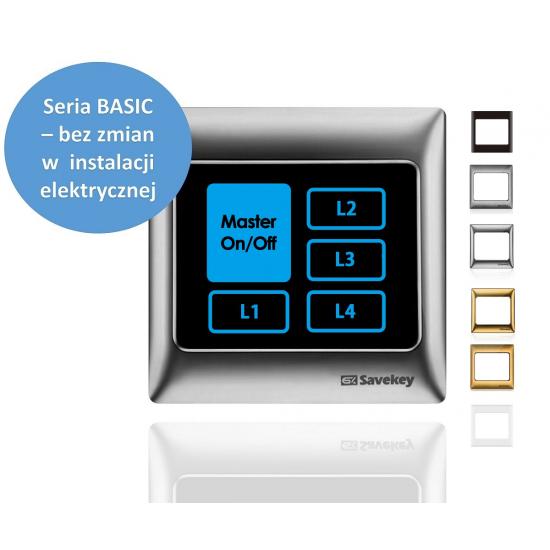 Włącznik dotykowy SaveKey BASIC TS-L4-M