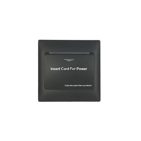 Włącznik światła na kartę MiFare - czarny