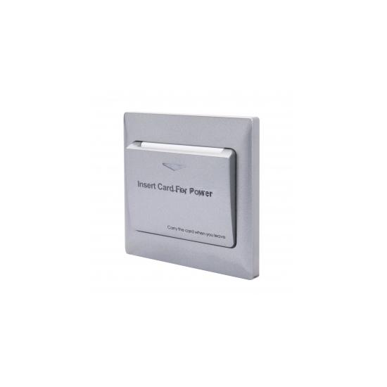 Włącznik światła na kartę MiFare - srebrny